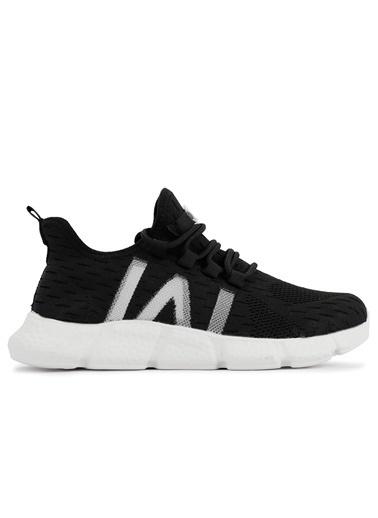 Slazenger Slazenger Across Sneaker Unisex Ayakkabı  Siyah